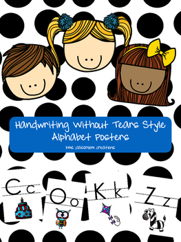 Alphabet Posters HWT Style