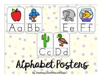 Alphabet Posters {Half Sheet}