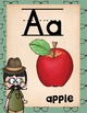 Alphabet Posters Hipster Theme
