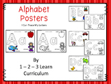 Alphabet Posters - I Can Write the Letter