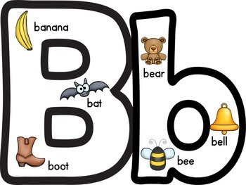 Alphabet Posters {Includes Uppercase & Lowercase}