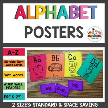 Alphabet Posters Astrobrights