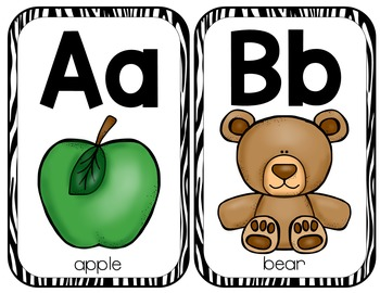 Alphabet Posters {Jungle}