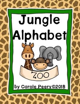 Alphabet Posters Jungle