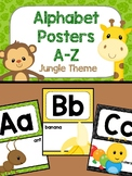 Alphabet Posters - Jungle Theme