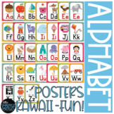 Alphabet Posters Kawaii Style