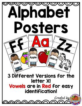 Alphabet Posters-Kid Theme