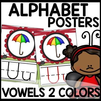 Alphabet Posters (Ladybug Themed)