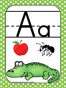 Alphabet Posters, Letters Posters