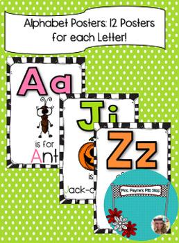 Letter Posters (MEGA PACK)!