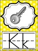 Alphabet Posters MIX AND MATCH (YELLOW Scribble)