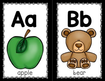 Alphabet Posters (Manuscript)