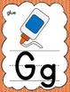 Rainbow Manuscript Alphabet Posters for Classroom Decor