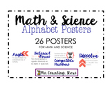 Alphabet Posters (Math and Science)