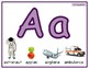 Alphabet Posters, Mats, 2 of each Upper and lower case