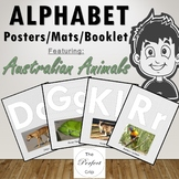 Alphabet Posters / Mats / Booklet, Australian Animals, 26 Real Photos