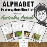Alphabet Posters / Mats / Booklet, Australian Animals, 26