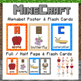 Alphabet Posters - Minecraft themed!