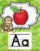 Alphabet Posters Monkey Theme