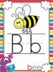 Alphabet Posters Monster Themed