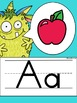 Alphabet Posters and Bunting {Monsters Classroom Decor Theme}