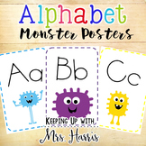 Alphabet Posters -  Monsters