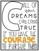 Alphabet Posters | Motivational Quotes | White & Bright