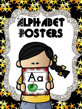 Alphabet Posters - Movie or Hollywood Theme