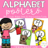 Alphabet Posters - New South Wales Print and Pre-Cursive Fonts