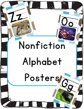 Alphabet Posters: Nonfiction