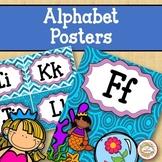 Alphabet Posters - Ocean
