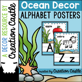 Alphabet Posters - Ocean Decor