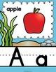 Alphabet Posters - Ocean Decor