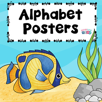 Alphabet Posters Ocean Themed