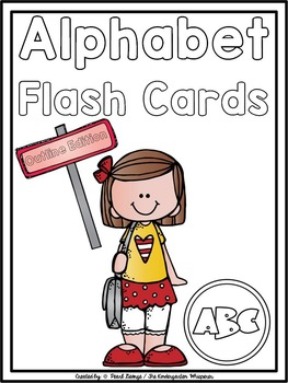 Phonics - Alphabet Flash Cards (Outline Edition)