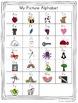 Alphabet Posters - Pastel Chevron