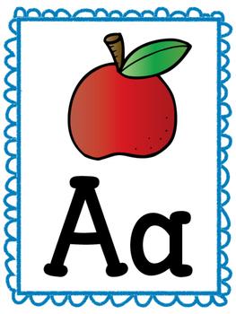 Alphabet Posters- Phonics Cards