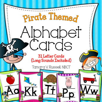 Alphabet Posters (Pirate Themed)