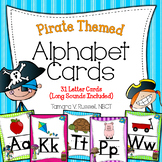 Alphabet Posters {Pirate Themed}
