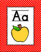 Alphabet Posters: Polk-a-dot Themed Classroom Decor