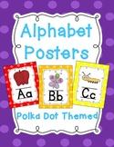 Alphabet Posters (Polka Dot)