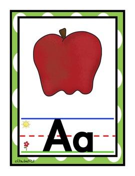 Alphabet Posters {Polka Dot}