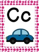 Alphabet Posters: Polka Dot Letter Parade