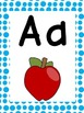 Alphabet Posters: Polka Dot Letter Parade