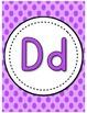 Alphabet Posters [Polka Dot Theme]