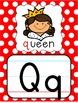 Alphabet Posters - Primary Polka Dot
