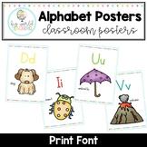 Alphabet Posters - Print Font