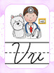 EDITABLE Alphabet Posters   Print & Cursive in Lined & Unlined Letters