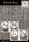 Alphabet Posters QLD Font