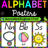 Alphabet Posters - Queensland Font